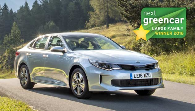 WINNER: Kia Optima Plug-In Hybrid