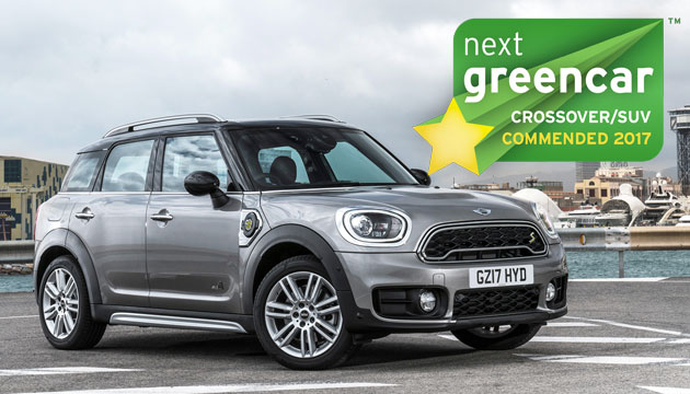 COMMENDED: Mini Countryman Cooper S E ALL4