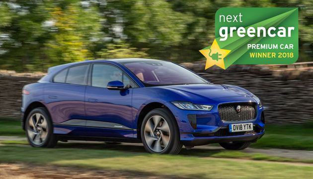 WINNER: Jaguar I-Pace