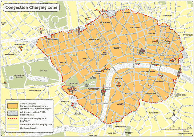 London T-Charge Zone