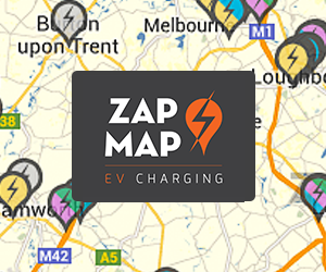 UK electric car charging point map