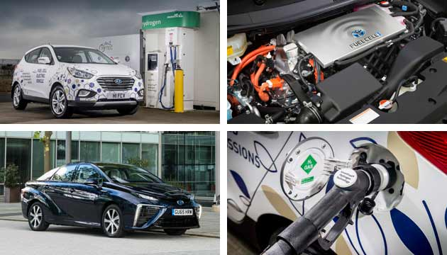 hydrogen fuel cell cars uk