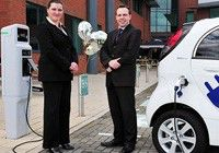 APT installs Midlands charging points
