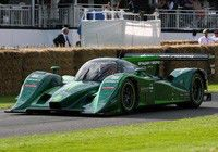 Lola-Drayson electric racer at LCV 2012