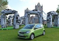 Skoda builds 'Citihenge' for the solstice