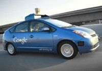 Google driverless car legal in California