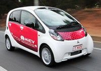 Competition winner receives new i-MiEV