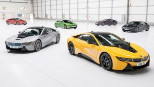 Individuality assured with new BMW i8 options