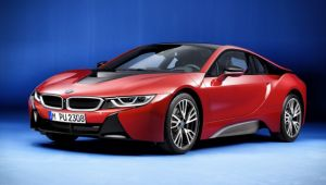 Special edition i8 revealed as BMW launches new brand