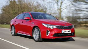 Kia Optima 1.7 CRDi review