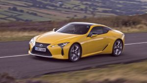 Lexus LC 500h review