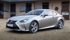 Lexus RC 300h review