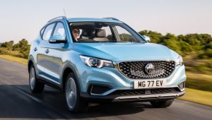 MG donates 100 ZS EVs to NHS for six months