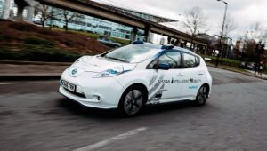 Nissan carries out on-road autonomous car tests in UK