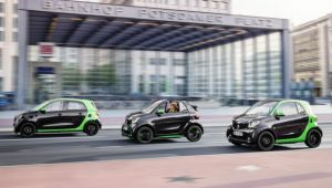 Smart launches electric drive across the line-up