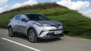 Toyota C-HR 1.2T CVT review