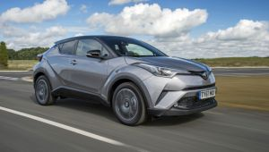 Toyota C-HR 1.8 Hybrid review