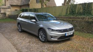 VW Passat GTE Estate review