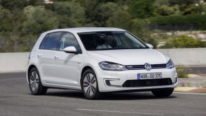 VW e-Golf 2017 First Drive