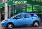 Nissan LEAF joins Europcar rental fleets image