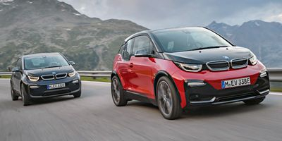 BMW i3 Top 10 EVs UK