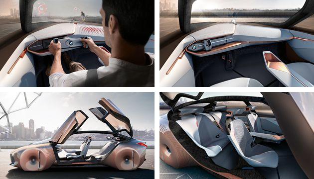 bmw reveals vision next 100 concept next green car. Black Bedroom Furniture Sets. Home Design Ideas