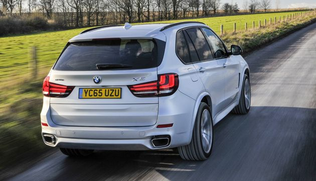 Bmw X5 Xdrive 40e Rear