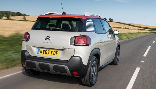 Citroen C3 Aircross PureTech 110 rear