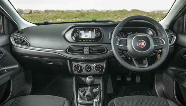 Fiat tipo 16 multijet review next green car for Interior fiat tipo