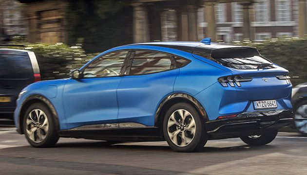 Ford Mustang Mach-E Go Electric rear