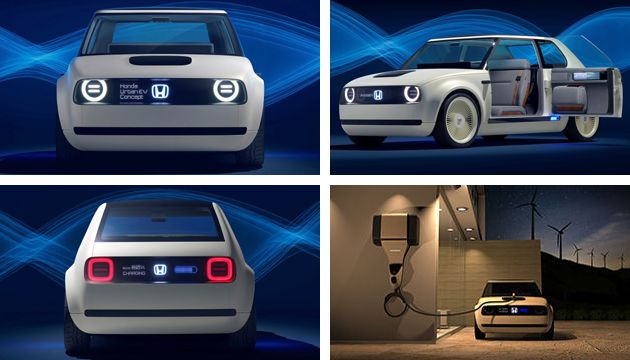 frankfurt launch for honda urban ev concept next green car. Black Bedroom Furniture Sets. Home Design Ideas