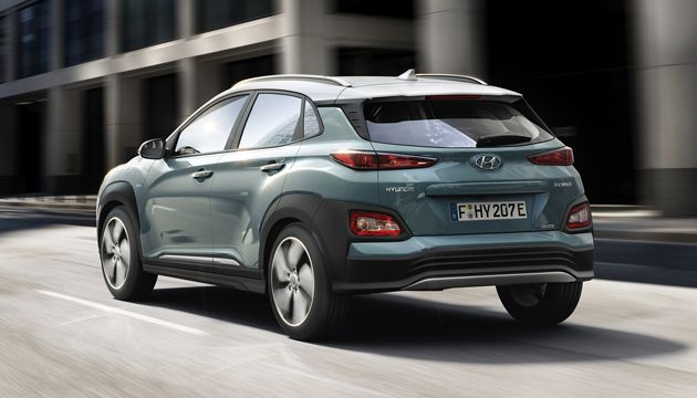 Hyundai Kona Electric rear