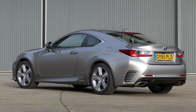 lexus rc 300h review next green car. Black Bedroom Furniture Sets. Home Design Ideas