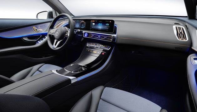 Mercedes Benz EQC interior