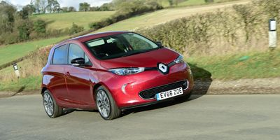 Renault Zoe - Top 10 EVs UK