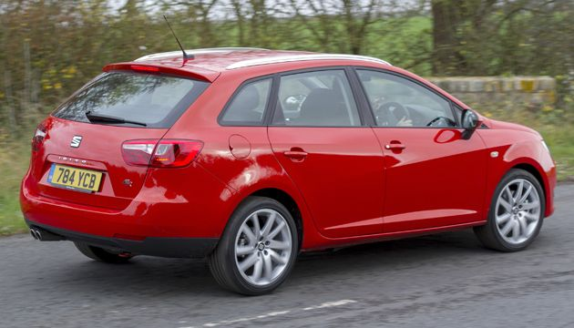 seat ibiza st 10 ecotsi review next green car. Black Bedroom Furniture Sets. Home Design Ideas