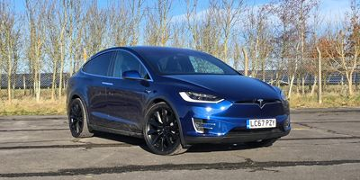 Tesla Model X - Top 10 EVs UK