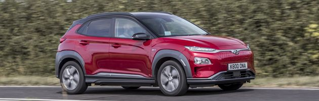 Hyundai Kona Electric - Top 10 EVs UK 2020