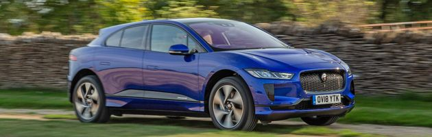 Jaguar I-Pace - Top 10 EVs UK 2020