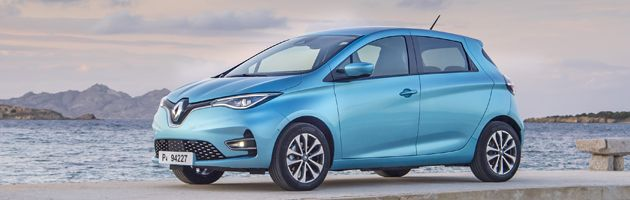 Renault Zoe - Top 10 EVs UK 2020