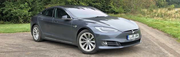 Tesla Model S - Top 10 EVs UK 2020