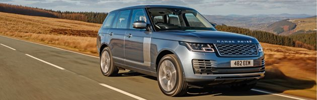 Range Rover P400e - Top 10 PHEVs UK 2020