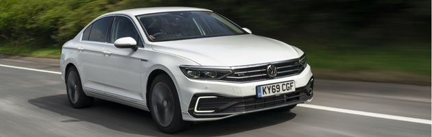 VW Passat GTE - Top 10 PHEVs UK 2020