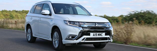 Mitsubishi Outlander PHEV - Top 10 PHEVs UK 2020
