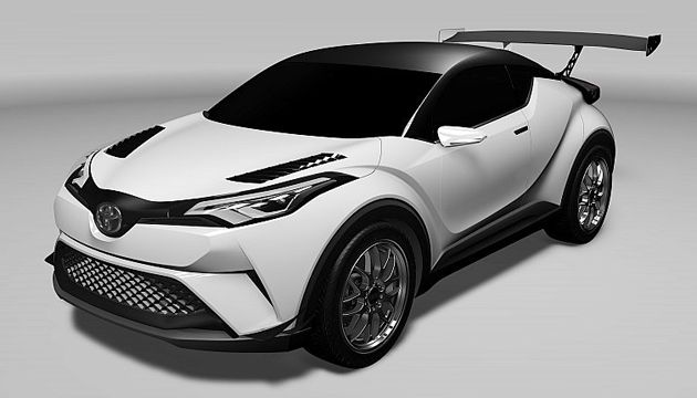 toyota chr hybrid confirmed for geneva next green car. Black Bedroom Furniture Sets. Home Design Ideas