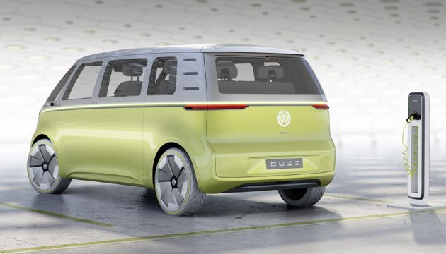 VW I.D. Buzz rear