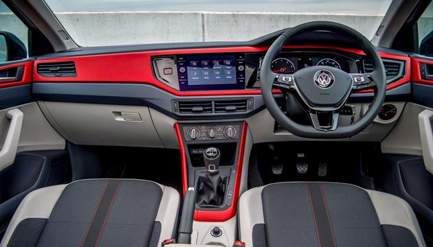 VW Polo interior
