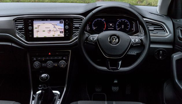 VW T-Roc interior