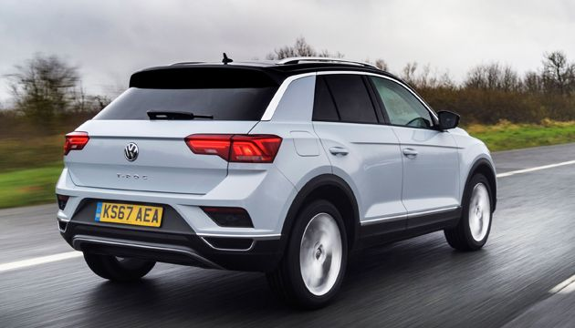 VW T-Roc rear