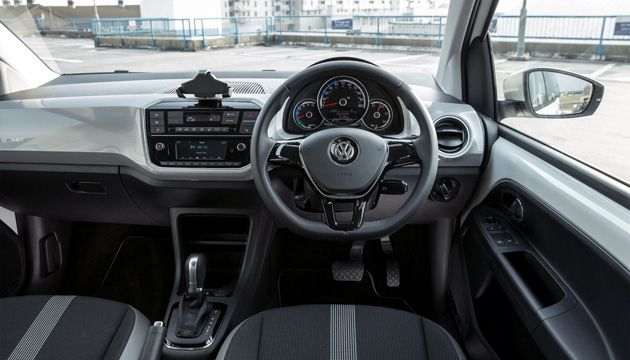 VW e-up! interior